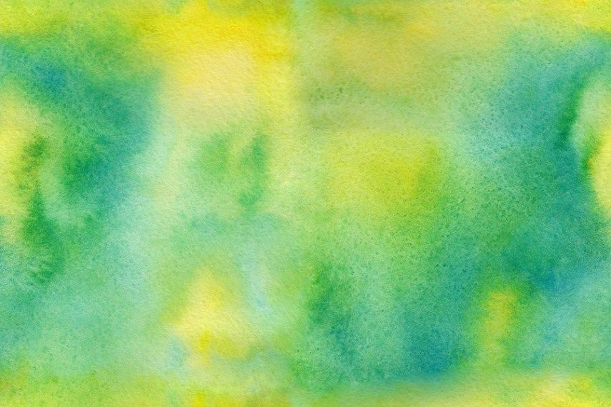 3 Seamless Watercolor Textures Watercolor Texture Green