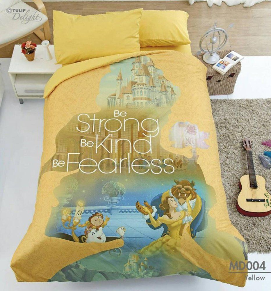 Beauty and the beast belles bedroom - Absolutely Enchanting Beauty And The Beast Bedding Set