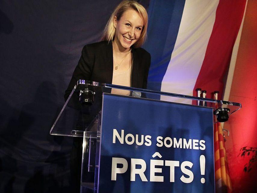 La sobrina de Marine Le Pen le dificulta su llegada al Elíseo