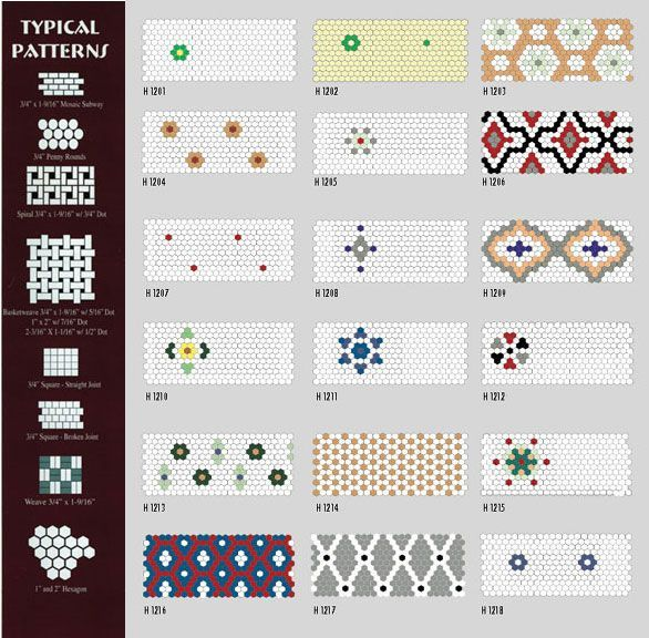 Historic Hex tile patterns is creative inspiration for us Get