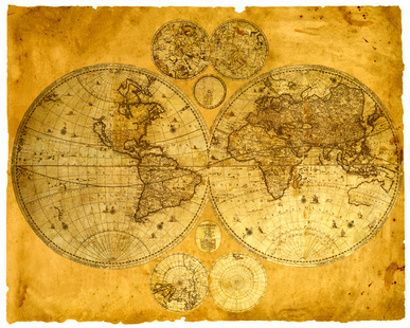 Historical Maps of the Whole World | History, Relics - things from ...