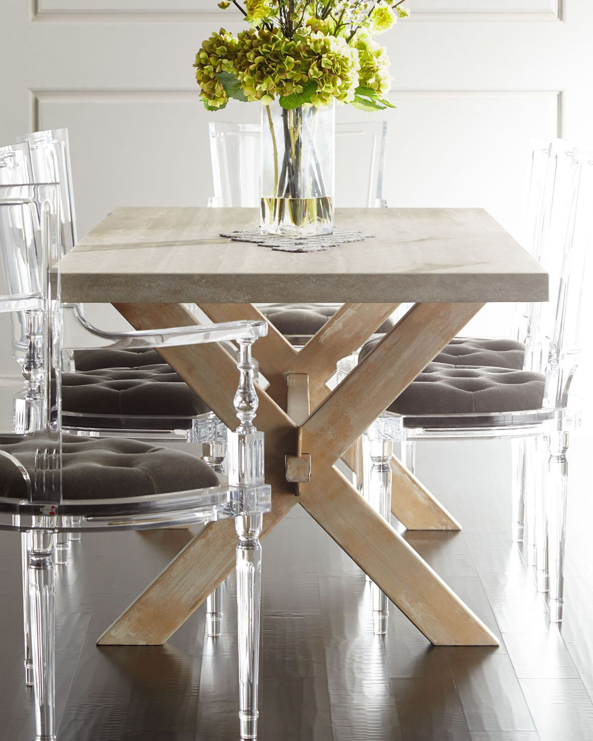 Bacca Stone Top Dining Table Stone Top Dining Table Stone