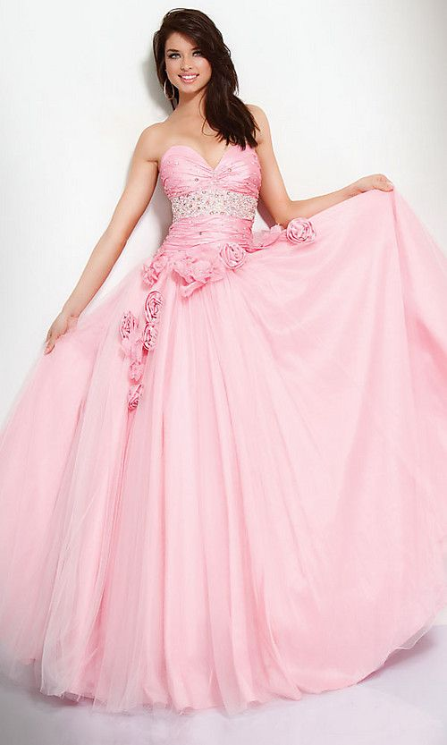 Pink Princess Prom Dress - Ocodea.com