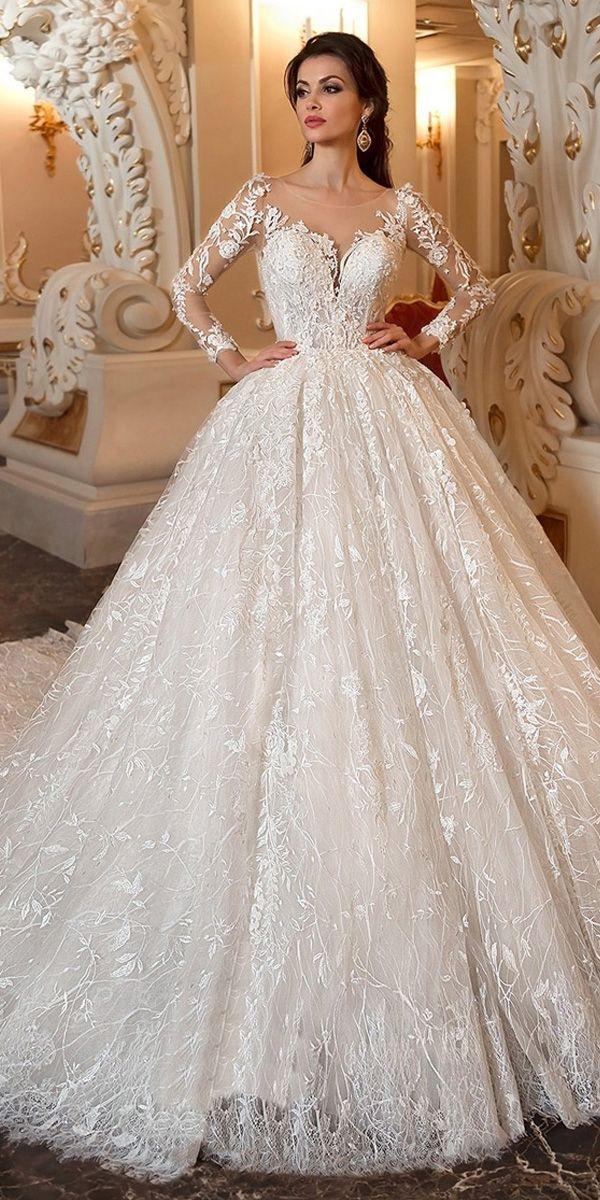 Marvelous Lace & Tulle Scoop Neckline Ballkleid Hochzeitskleid mit Spitze Applique ... #spitzeapplique