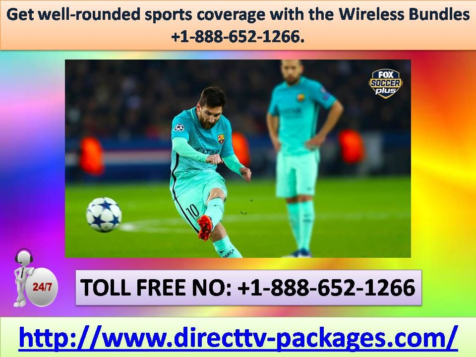 Get wellrounded sports coverage with the Wireless Bundles
