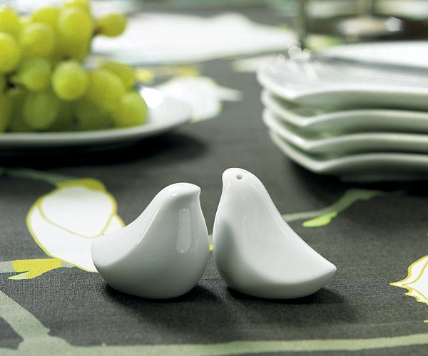 Love Bird Salt & Pepper Shaker Favors