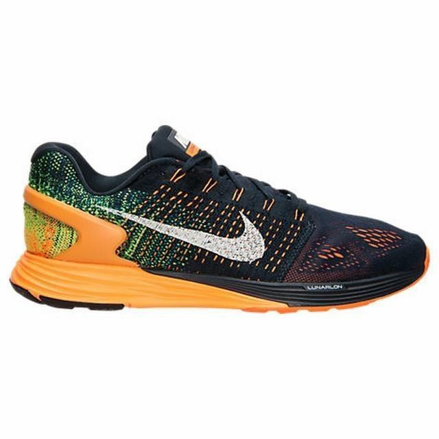 NIKE LUNARGLIDE 7 SZ 10 747355 400 RUNNING SHOES TRAINER 2016