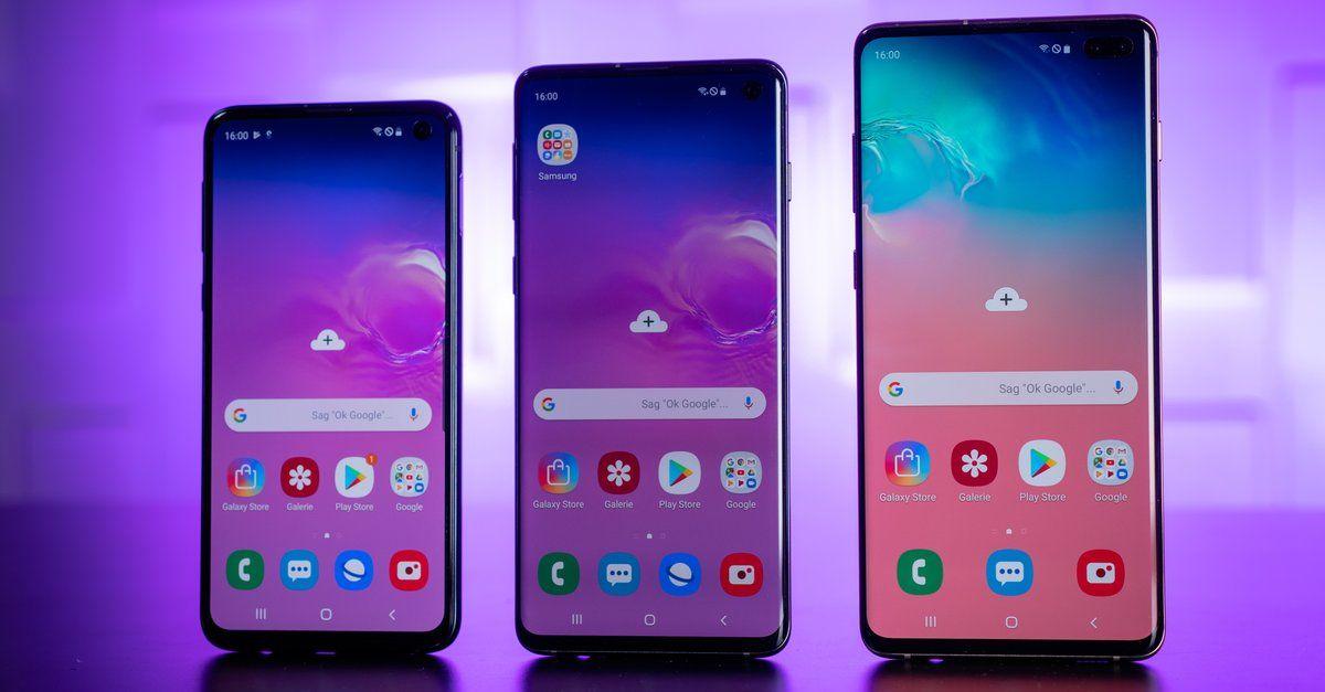 Galaxy S10 Das Ist Samsungs Star Am Smartphone Himmel Neue Smartphones Samsung Und Smartphone