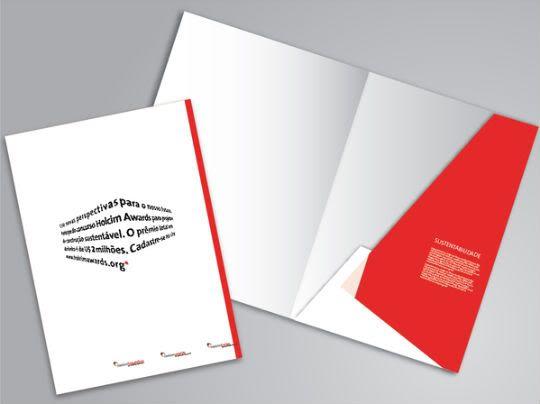 Idéias para Pastas de Apresentação Branding ideas, Brochures and - resume folders
