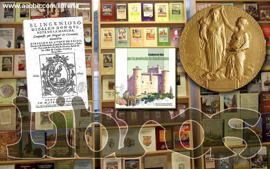 Prueba a soñar tu libro, a leer cualquiera de ellos, a enfrentarte contigo mismo a través de sus páginas: el Quijote, los viajes por nuestra tierra, la gloria del Nobel...