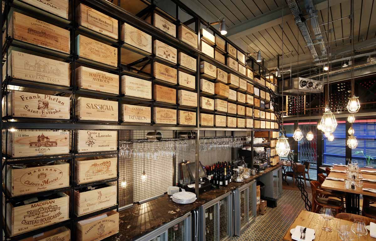 28 50 Wine Workshop And Kitchen Restaurant And Bar Marylebone Amazing Wine Bar Restaurant Bar Wine Crate Cafe House