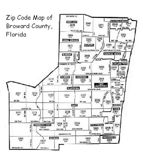 Broward Zip Code Map Image grill cleaning and refurbishing in ...