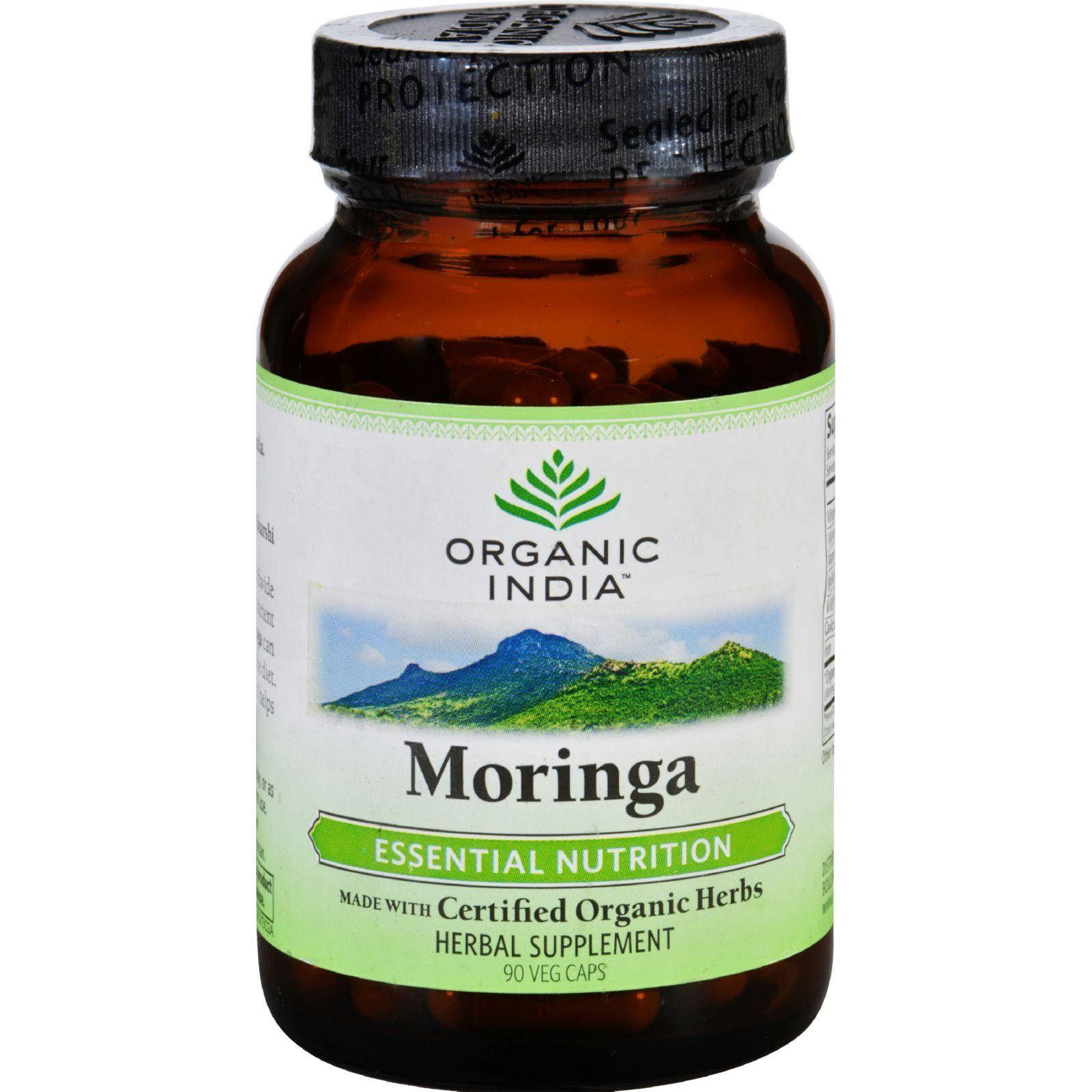 Organic India Moringa 90 Vcaps Remedios caseros, Salud