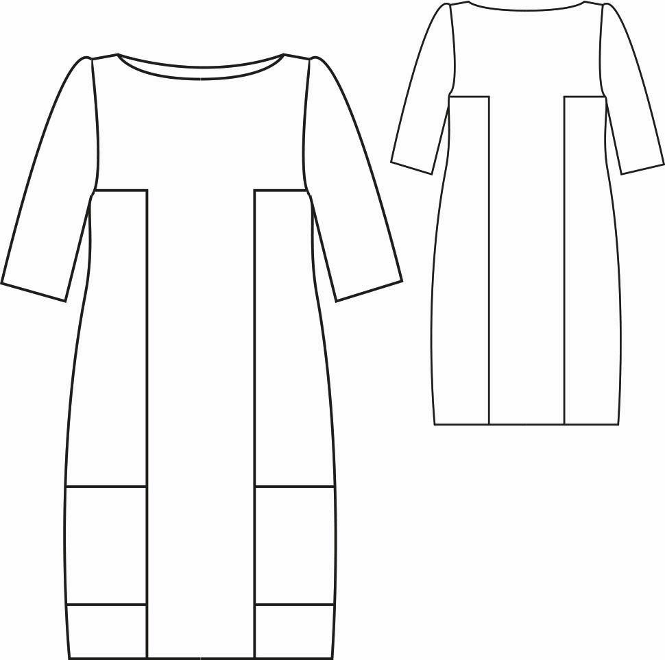 Patrón gratis vestido de bloques | ropa | Pinterest | Yo elijo ...