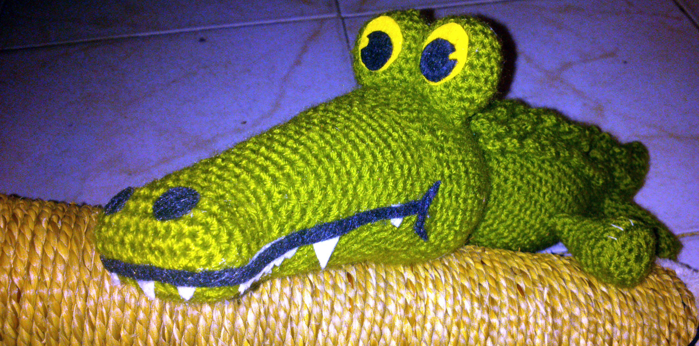 <3 Amigurumi Crocodile <3