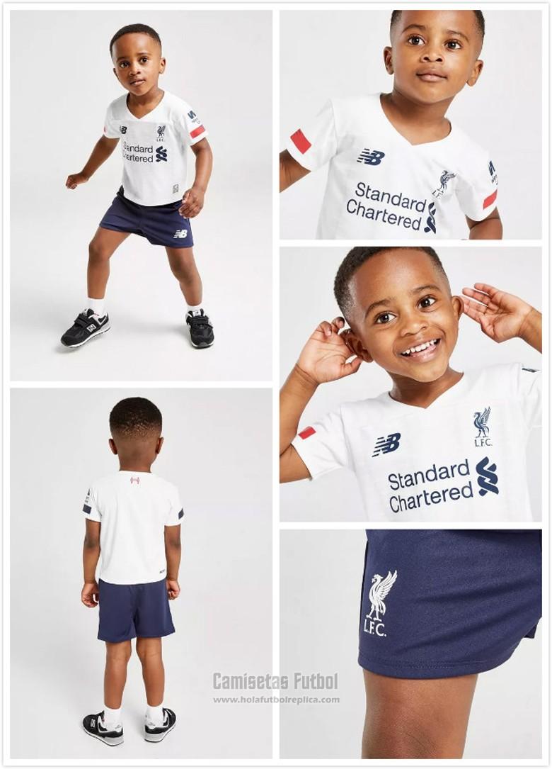 Camiseta Liverpool Segunda Nino 2019 2020 Futbol Replicas Camisetas Liverpool Camisetas De Futbol