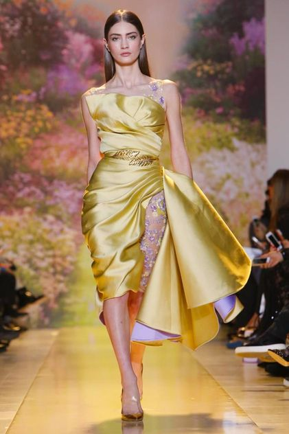 Zuhair Murad Haute Couture Spring Summer 2014 Paris - NOWFASHION