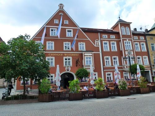 Gasthaus zum Erdinger Weissbräu, Lange Gasse, Erding ...