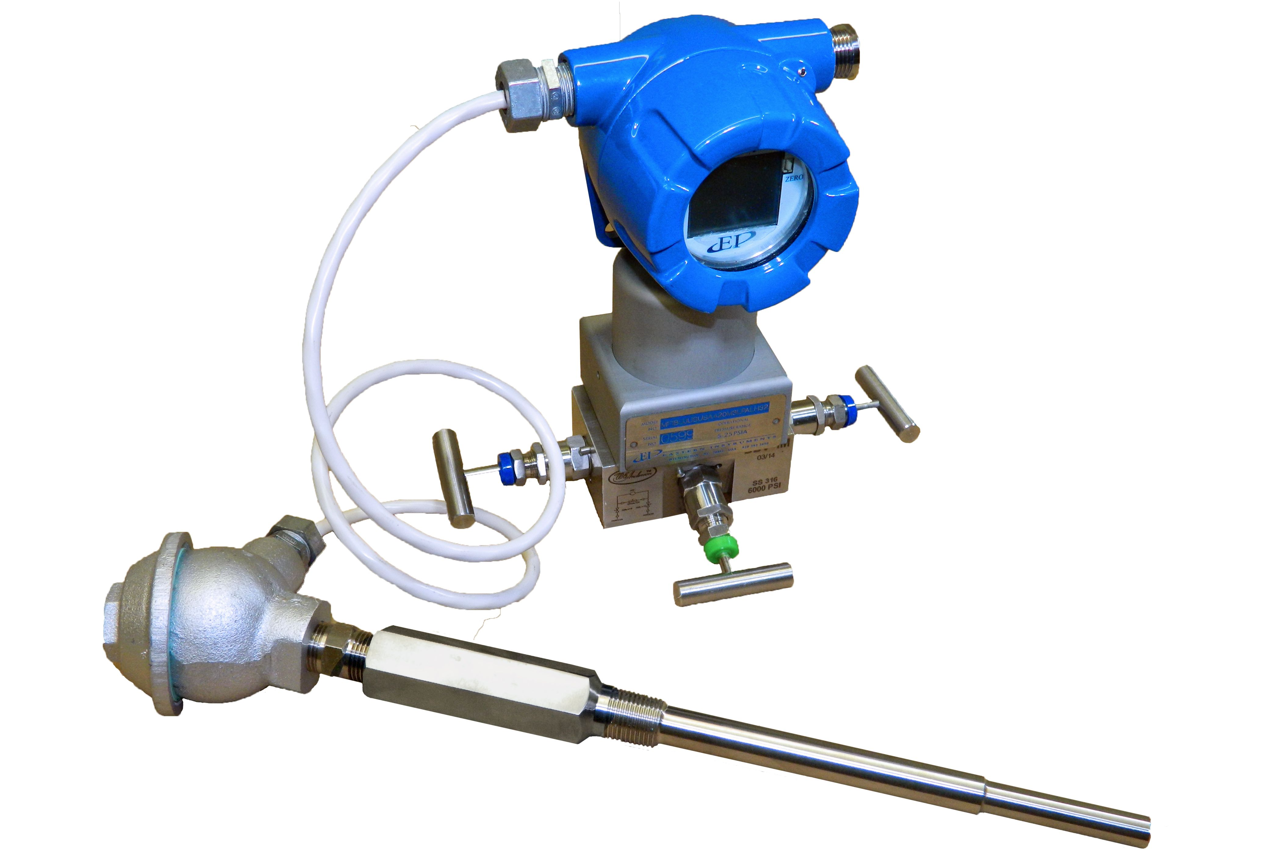 Multivariable Differential Pressure Transmitter for ultra