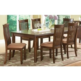 @Overstock   Montreat Oak Dining Set   Update Your Dining Area With The Montreat  Dining