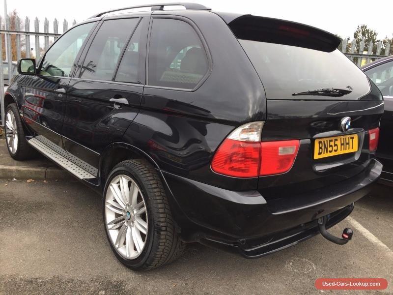 55 BMW X5 3.0 D SPORT MEGA SPEC SAT NAV PANORAMIC GLASS