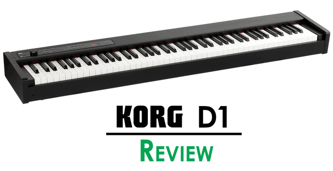 Korg D1 Review Affordable Stage Piano With A Premium Feel Korg Piano Digital Piano