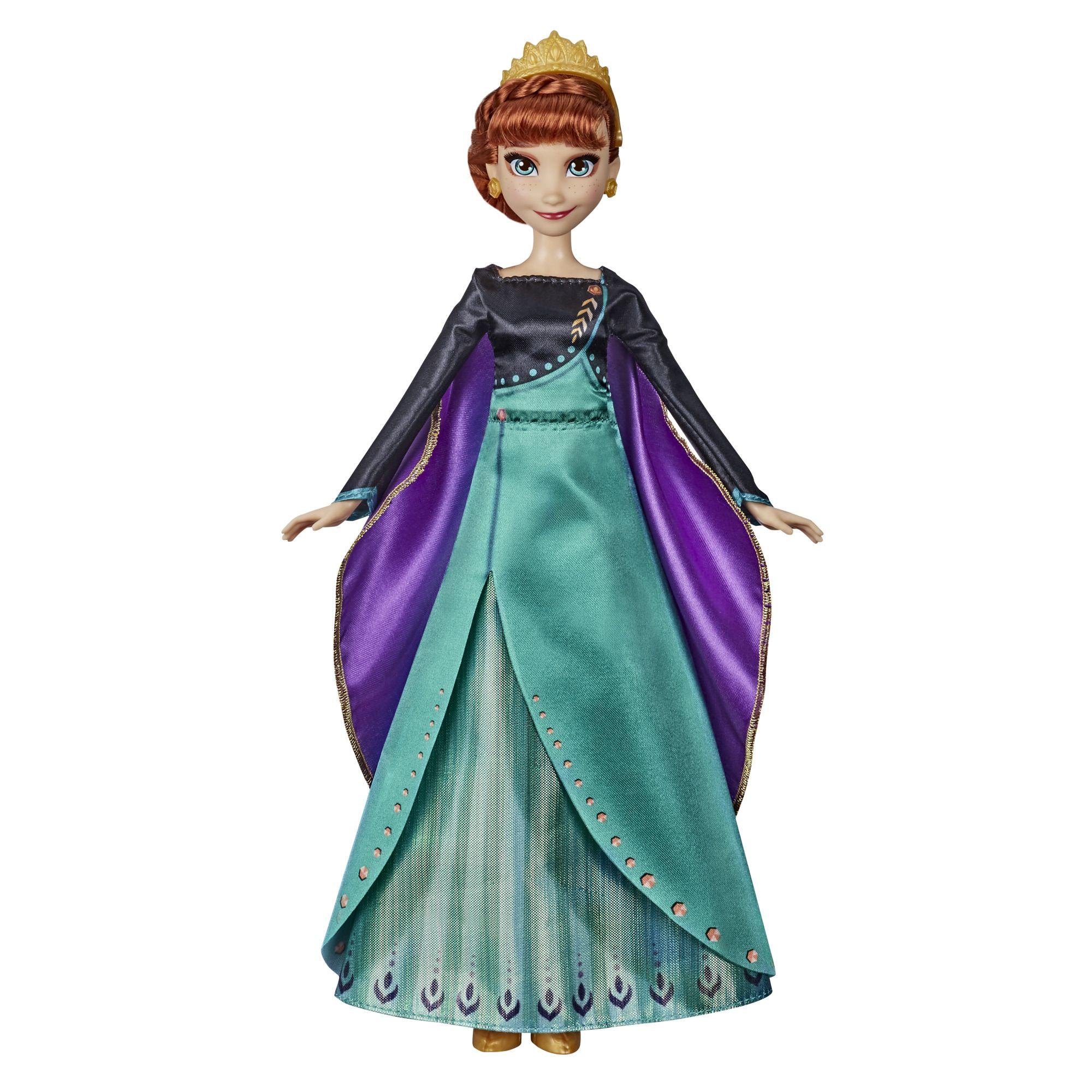 Frozen 2 Musical Adventure Anna Doll, Sings