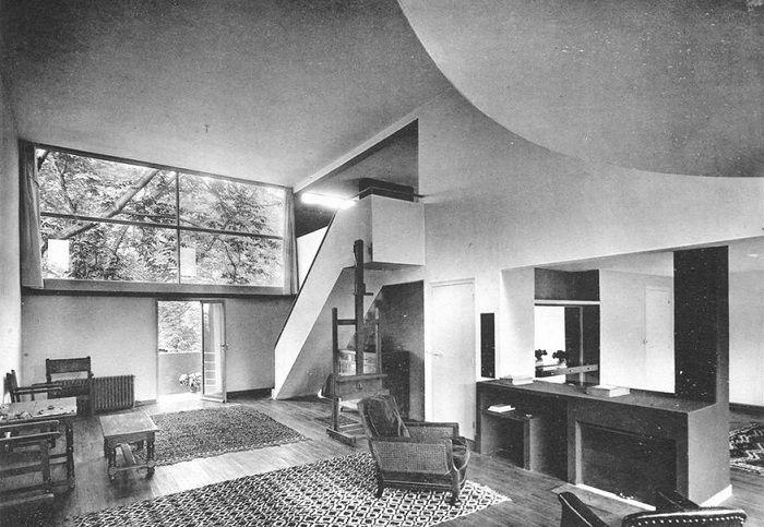 Villa stein de monzie interior le corbusier le - Casas de le corbusier ...