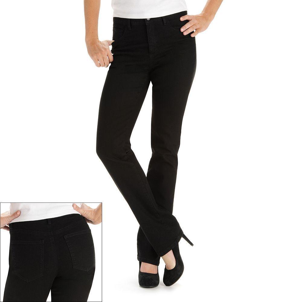 Lee Petite Monroe Classic Fit Straight-Leg Jeans