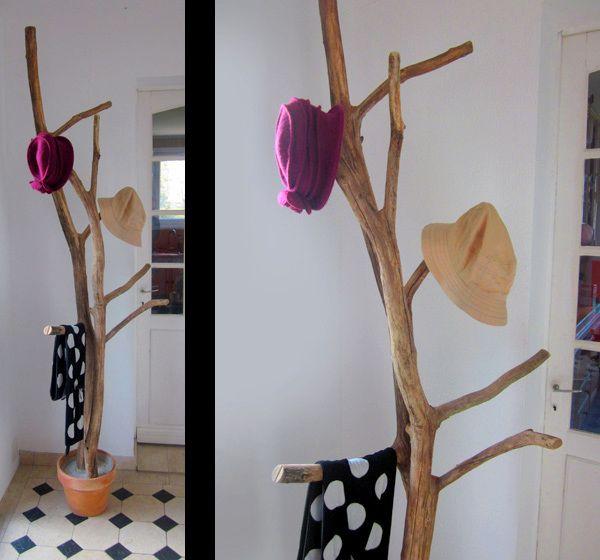 Fabriquer Porte Manteau Sur Pied Idees