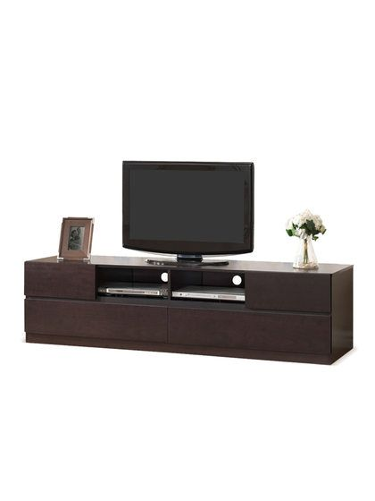 Lovato Dark Brown Tv Cabinet Ping Great Deals On Baxton Studio Entertainment Centers