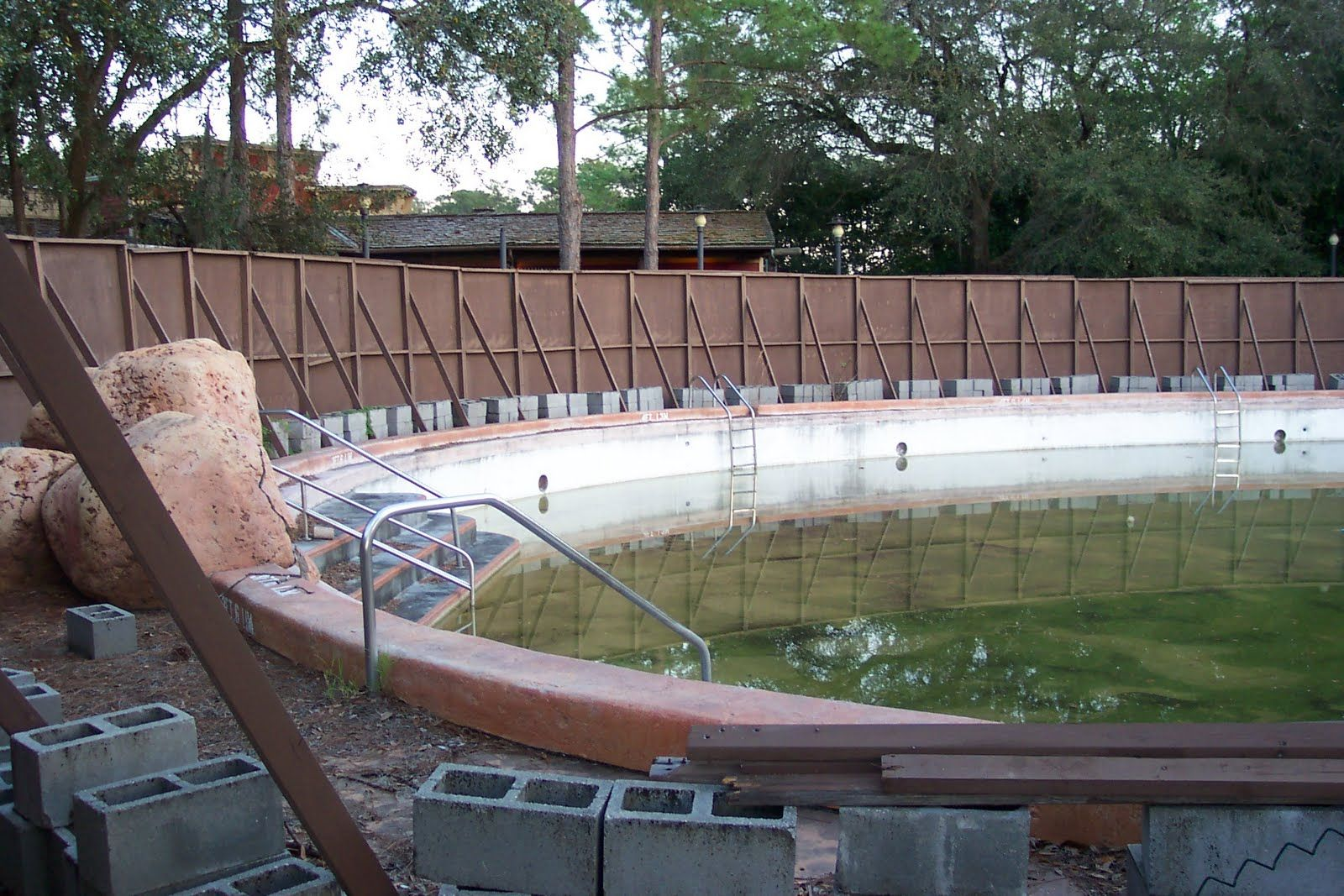 Abandoned Swimming Pool River Country Disney World