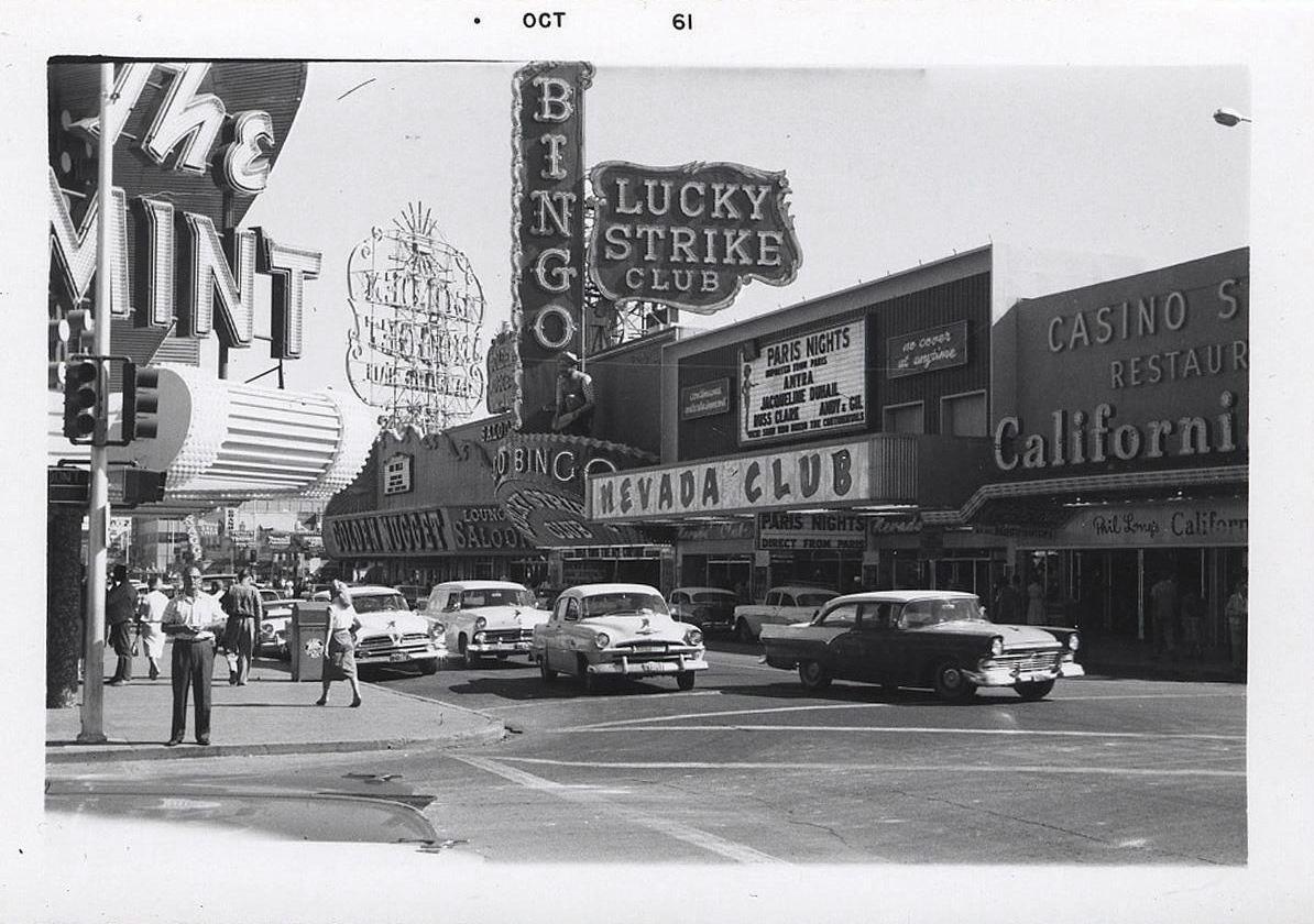 Las Vegas, NV, 1960s. Las vegas, Atlantic city casino
