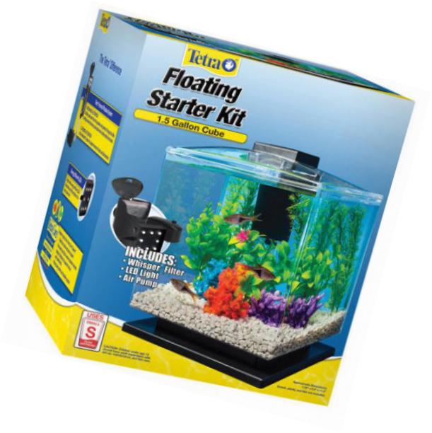 Tetra Aquarium Cube Tank 1 5 Gallons Cool Fish Tanks Tetra Aquarium Kit