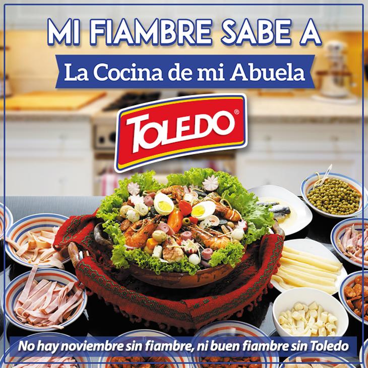 Las mejores recetas son las de la abuela, y el mejor fiambre ¡es con Toledo!