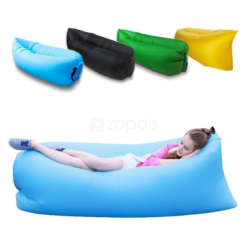 Inflatable Air Sofa Bed Lounger Portable Blow up Couch Air sofa