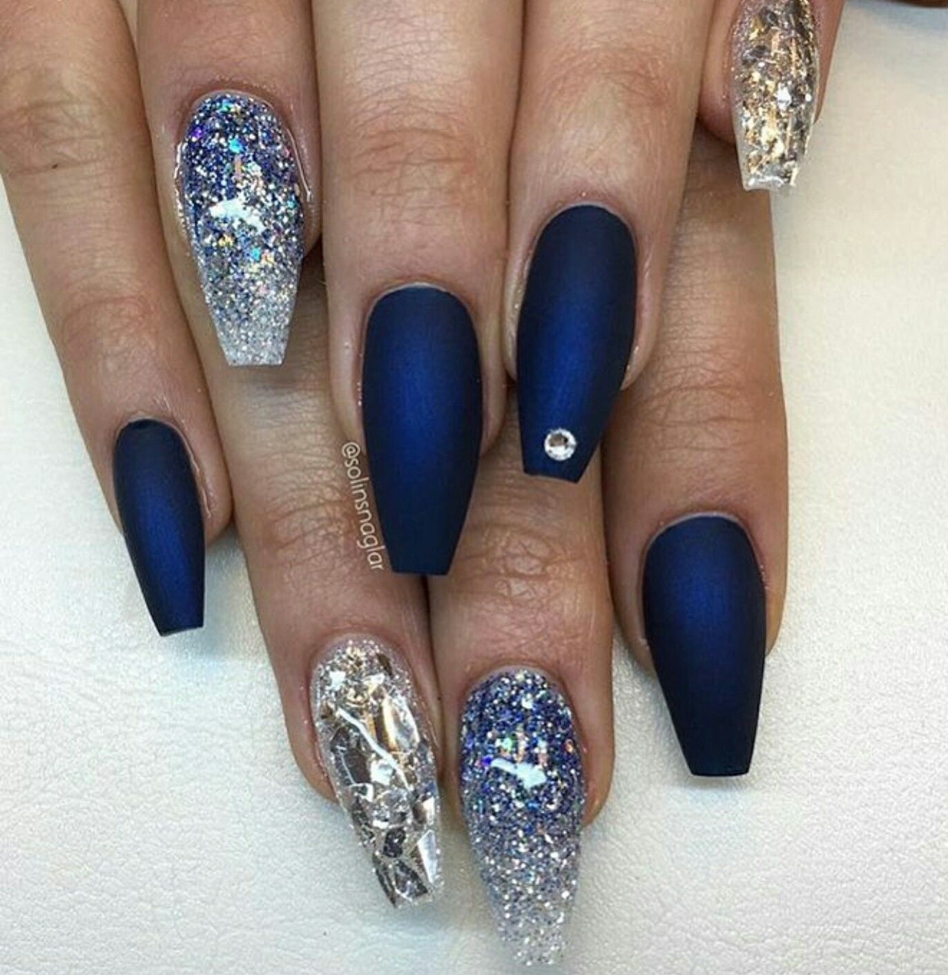 ballerina nails. acrylic