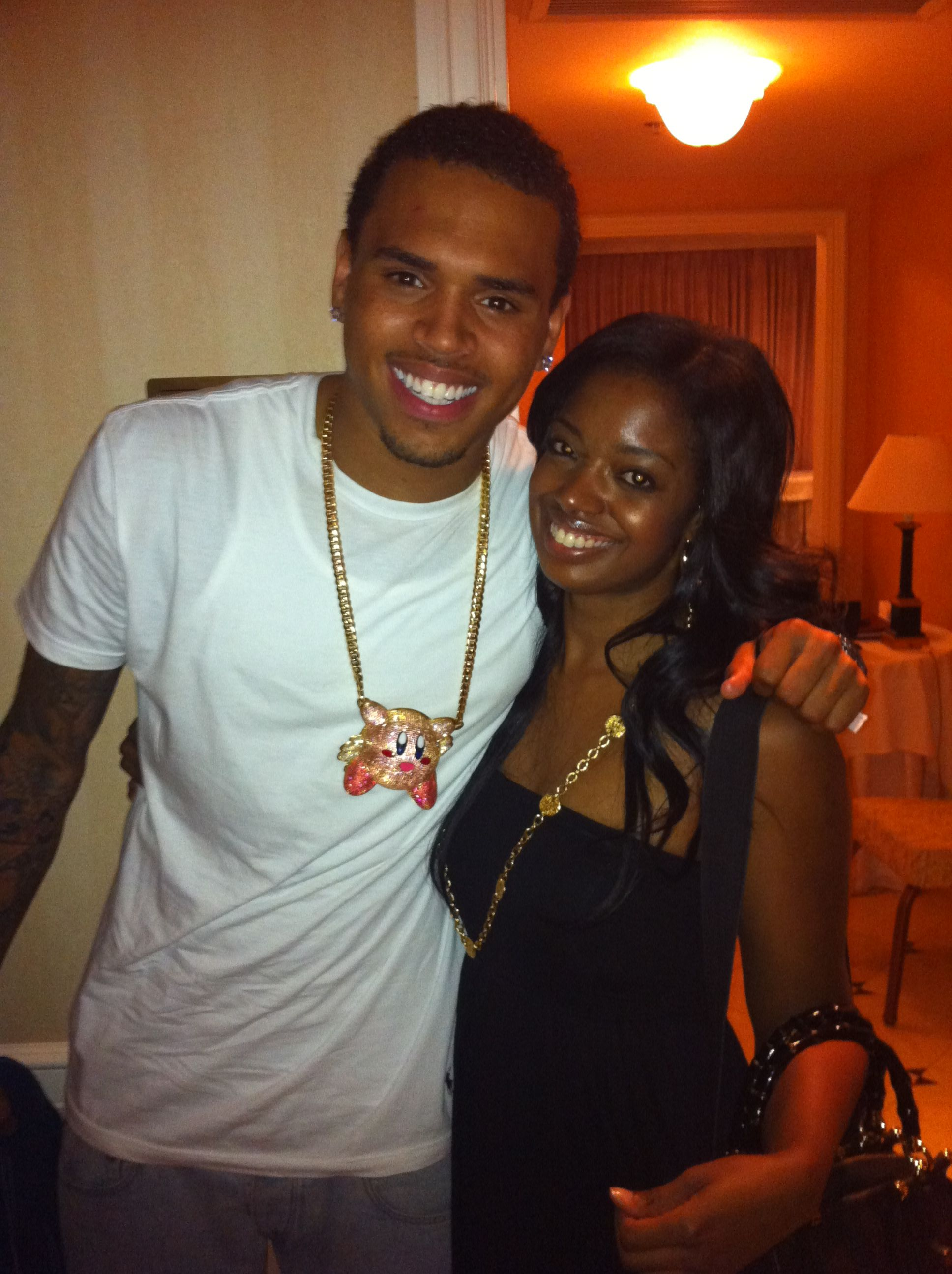 Me And My Heart My Little Brother Chris Brown At The Takers Junket