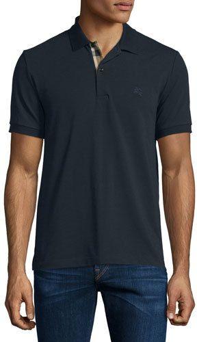 d946f73a112b Burberry Brit Short-Sleeve Oxford Polo Shirt