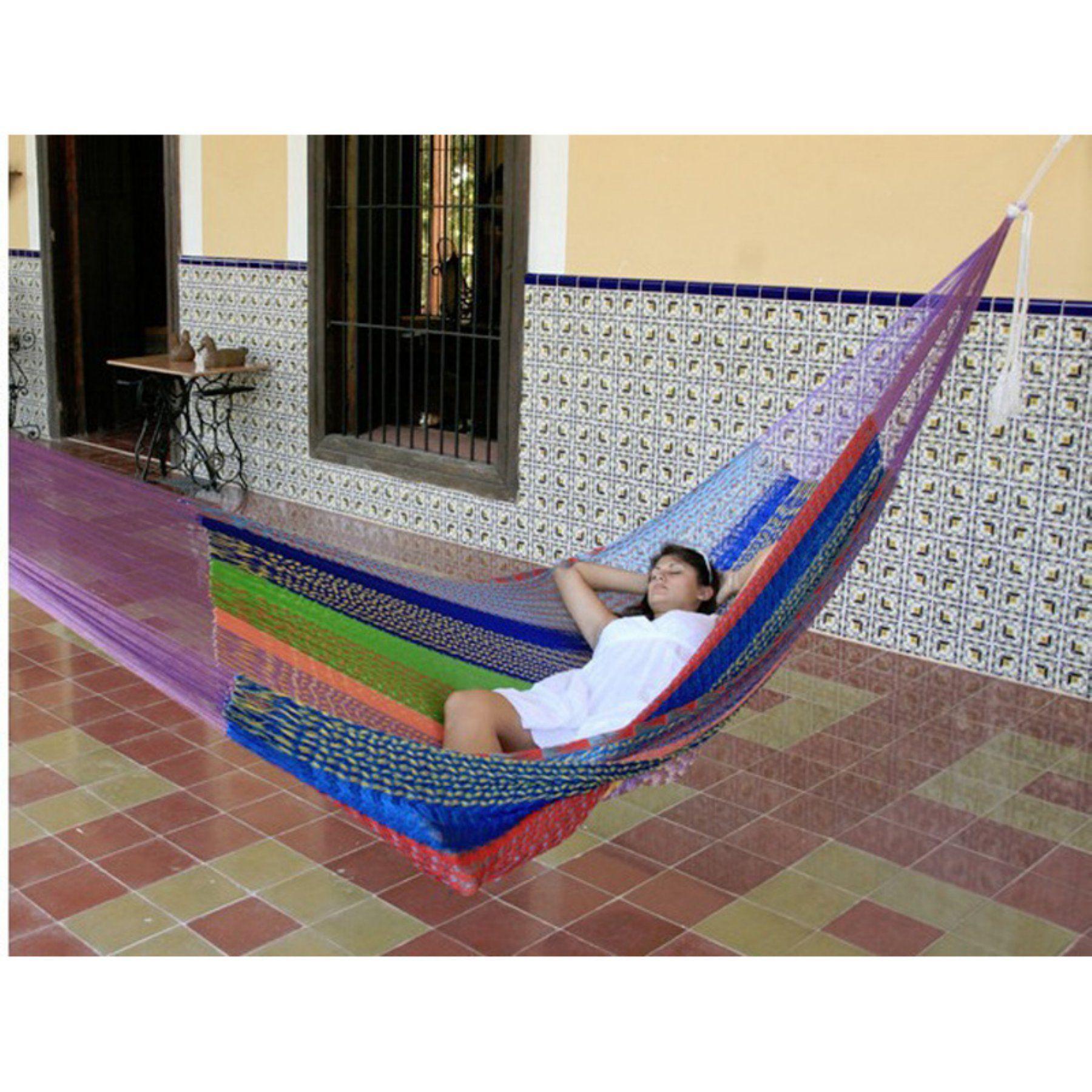 Sunnydaze decor portable jumbo size mayan hammock hmm products