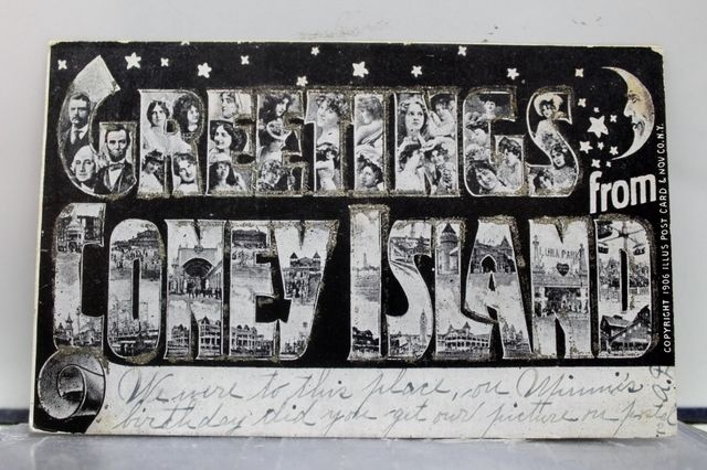 Pin by city grit nyc on coney island pinterest coney island gilded age ny postcard greetings from coney island pictured chorus girls president lincoln and washington scenes at coney island luna park etc m4hsunfo