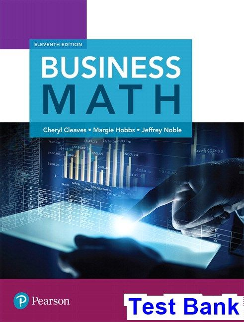 Business math 11th edition cleaves test bank test bank solutions business math 11th edition cleaves test bank test bank solutions manual exam bank quiz bank answer key for textbook download instantly fandeluxe Gallery