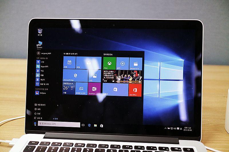 The GEAR - [맥 초보 가이드] 맥북에 윈도우10을 설치해 보자. - 부트캠프 편