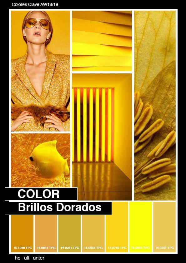 Colores clave 19 trend inspiration 2018 2019 for Tendencia de color de moda
