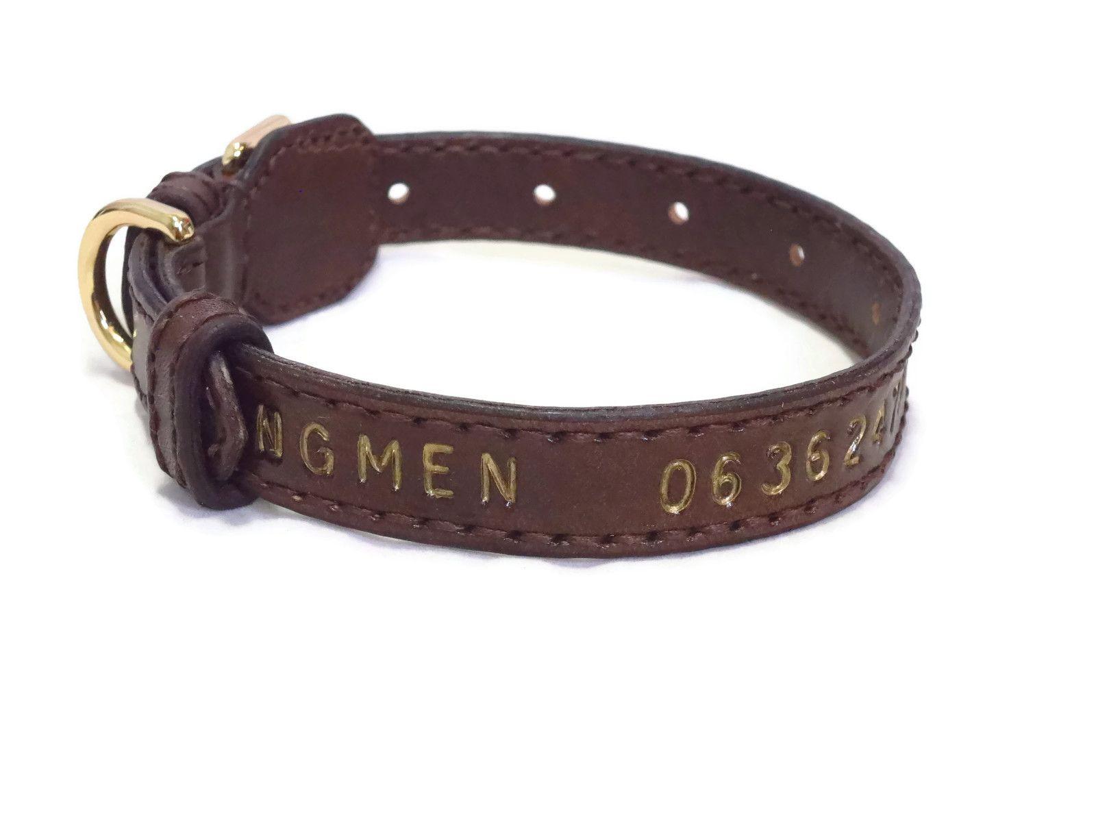 ปลอกคอหมา ปลอกคอแมว ปลอกคอหน งแท ป ายช อส น ข ป ายช อแมว ปลอกคอส น ข ปลอกคอแมว ปลอกคอหมาใหญ ปลอกคอหมาเล ก ปลอกคอแ Leather Bracelet Leather Jewelry