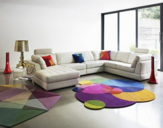 20 Eccentric Carpet Designs Living room carpet, Colorful