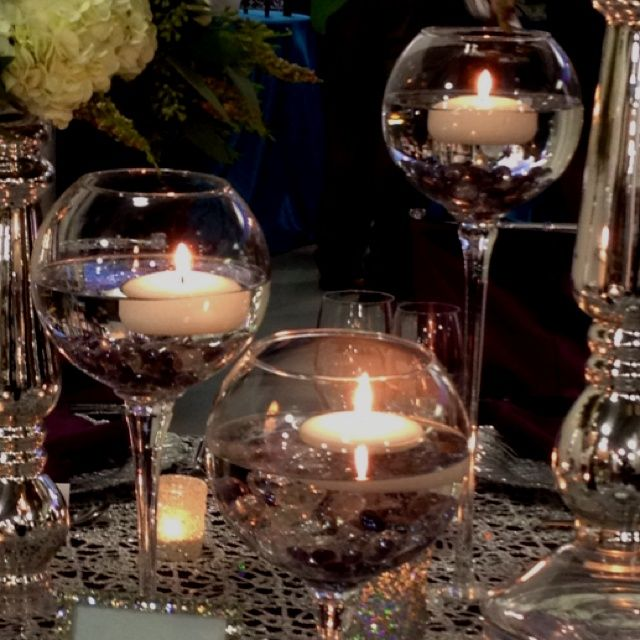 Floating Candle Wedding Centerpiece Ideas: Pin By Karielee McEwen On Flowers And Good Lighting Is All
