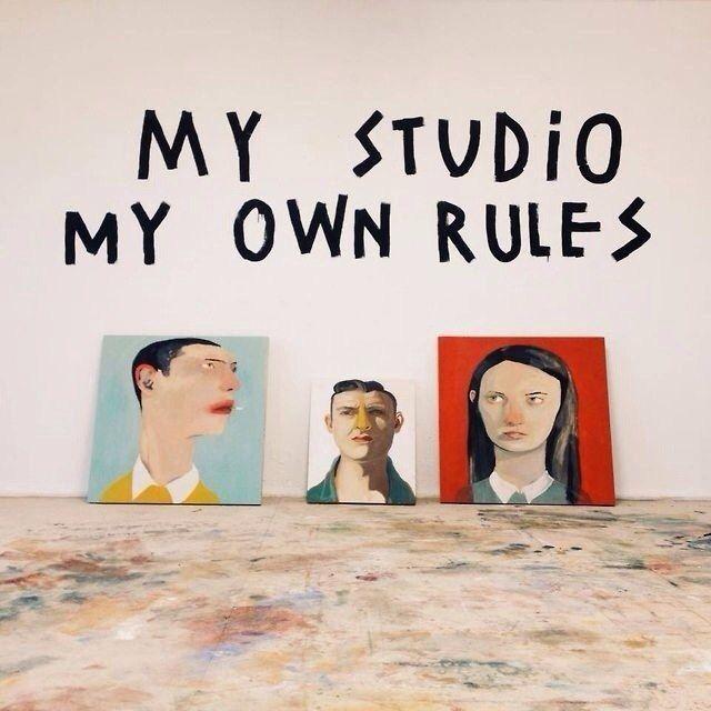 my studio my own rules