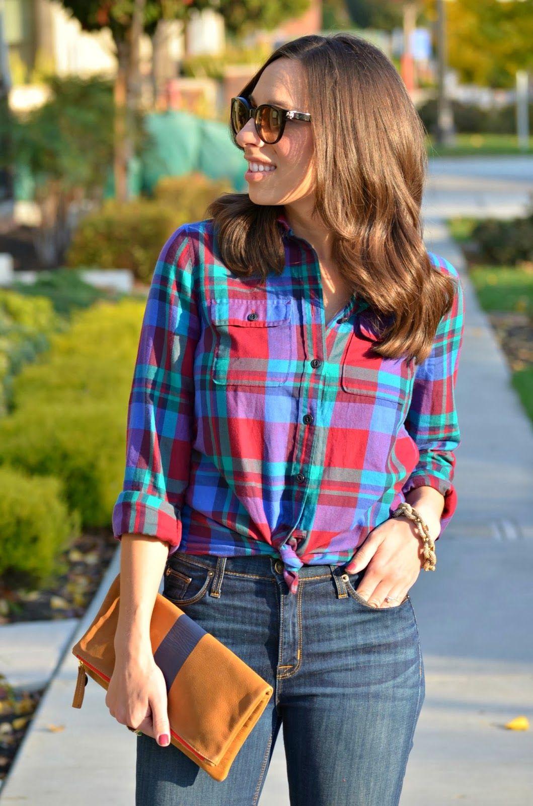 Dress up flannel shirt  Dressing up a flannel shirt  Closet  Pinterest