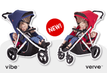 Phil And Teds Vibe Phil Ted Verve Inline Baby Stroller Family